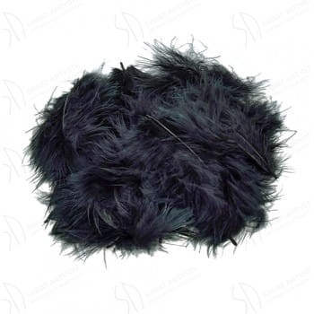 Piórka Marabuta Czarne