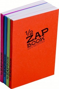 "Notes "" ZAP BOOK 1/2"" Clairefontaine,100% recycled - A5"