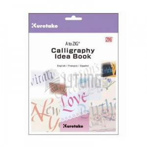 Blok do nauki kaligrafii KURETAKE Calligraphy Idea Book