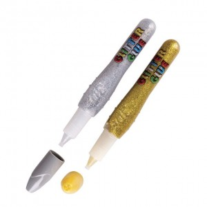 Klej z brokatem Easy 10,5ml - kolor złoty