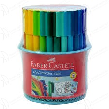 Flamastry FABER-CASTELL Connector -  45 kolorów