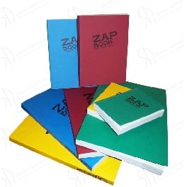 "Notes "" ZAP BOOK"" Clairefontaine, 100% recycled - A4"