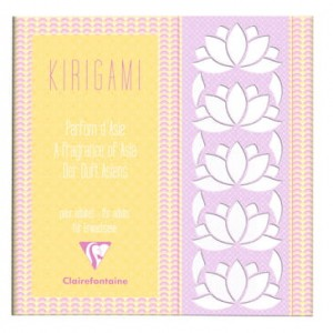 Blok do KIRIGAMI Clairefontaine ASIAN PATTERNS 20x20