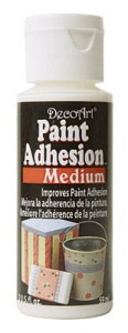 Medium do śliskich powierzchni DecoArt Paint Adhesion 59 ml