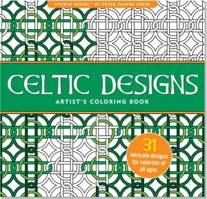 Blok do kolorowania, kolorowanka Peter Pauper CELTIC DESIGNS 23X24