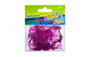 Cekiny confetti Craft with Fun różowe renifery - 14g