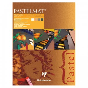 Blok do pasteli Clairefontaine Pastelmat 24x30 cm - brown tones