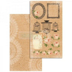 Papier do scrapbookingu Studio75  - Craft Love 06