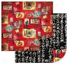 Papier Stamperia ScrapArt do scrapbookingu CHINY